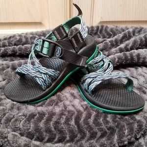 Chaco Kids ZX/1 Ecotread Sandals in Teal